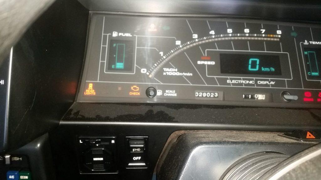 電気制御の設定をリセット