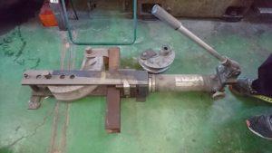 油圧式手動パイプベンダー